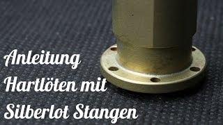 getlinkyoutube.com-Anleitung zum löten / Hartlöten mit Silberlot
