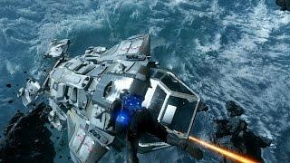 getlinkyoutube.com-Star Citizen AC 1.1.1 PTU - Defending my Constellation in multiplayer!