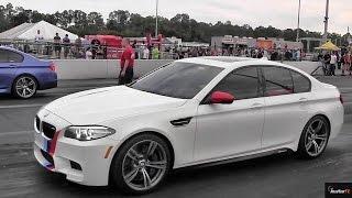 getlinkyoutube.com-Tuned v Stock - BMW M5 v M5 F10 Twin Turbo - Drag Race Video - Road Test tV