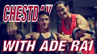 getlinkyoutube.com-CHESTDAY WITH ADE RAI / LATIHAN DADA DI GYM