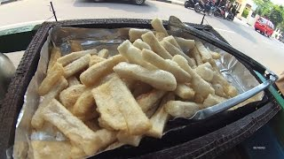Jakarta Street Food 1284 Part.1 Fried Fish Paste Stick Pempek 5980