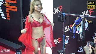 getlinkyoutube.com-2016成人展 第五屆成人博覽會 雪碧內衣秀1 紅色薄紗睡衣(4K HDR)[無限HD] TAIWAN ADULT EXPO