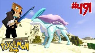 Minecraft - Pixelmon (มายคราฟ โปเกม่อน) #491 ซุยคุน มาแว้วว!!
