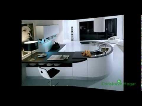 Diseños de islas de cocina modernas
