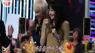 getlinkyoutube.com-Kim Bo Mi choose Kang Gary (LeeSsang) - Strong Heart (cut)