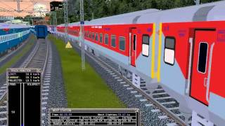 getlinkyoutube.com-IRTS: NDLS-BCT RAJDHANI PREMIUM Full Journey in Short (without TRF)