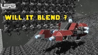 getlinkyoutube.com-Space Engineers - Will It Blend ? Weaponize Your Drills & Eat Other Ships Part 33