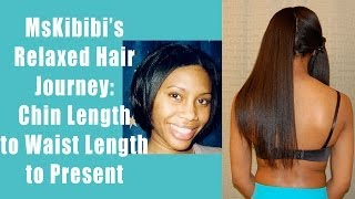 getlinkyoutube.com-My Relaxed Hair Journey - Chin to Below Waist Length