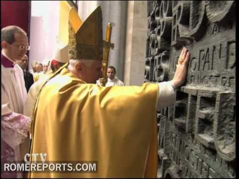 Papal trip to Spain  Homily of Benedict XVI during the Sagrada Familia's dedication as a basilica