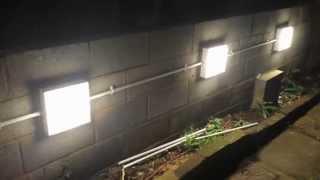 getlinkyoutube.com-Installing garden wall lights