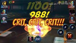 getlinkyoutube.com-Marvel: Future Fight - Arena Gameplay of Team Pym (Ant Man, Yellowjacket, Goliath)!!