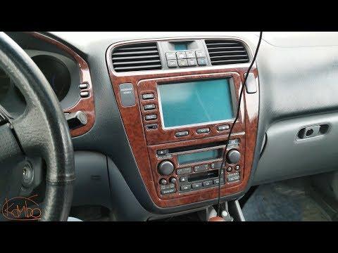 Часть 2. установка на Acura MDX 2004 ГУ DASAITA Android 8 px5 octa core