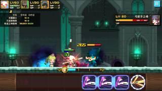 getlinkyoutube.com-【Crusaders Quest】6☆Kaori solo FoS B7 The Wall-1