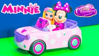 getlinkyoutube.com-MICKEY MOUSE CLUBHOUSE Disney Minnie Mouse+ Little Charmers Video Parody
