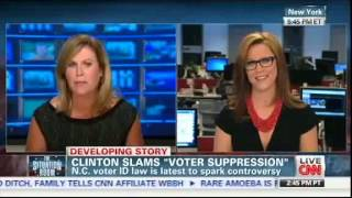CNN's S.E. Cupp And Stephanie Cutter In Explosive Brawl Over Voter ID