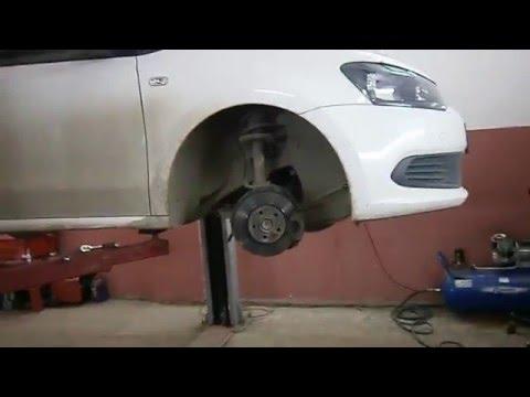 VW POLO - Замена рулевой тяги.
