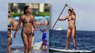 getlinkyoutube.com-Alex Morgan Kicks It in a Bikini in Maui - Splash News   Splash News TV   Splash News TV