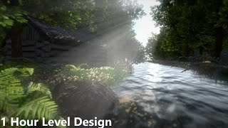 Wooden House by River | Speed Level Design (Unity 5)