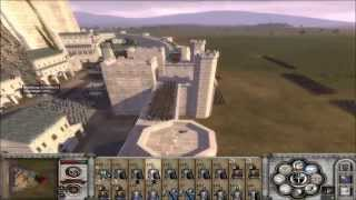 getlinkyoutube.com-Third Age Total War Minas Tirith Siege Battle