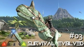 getlinkyoutube.com-ARK: Survival Evolved - NEW CARNO Lvl 120 - THE VILLAGE IDIOT !!! - [Ep 03] (Server Gameplay)