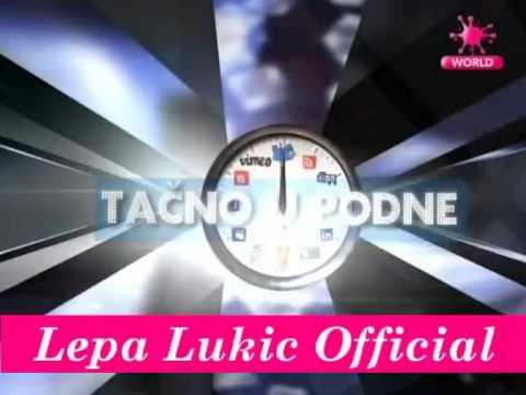 Lepa Lukic & Stanija Dobrojevic - Tacno u Podne - 20.02.2013 Pink World