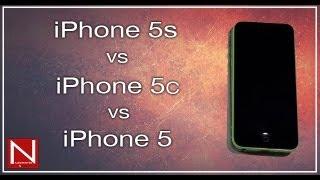 مقارنة آيفون 5  vs آيفون 5 سي vs آيفون 5 أس