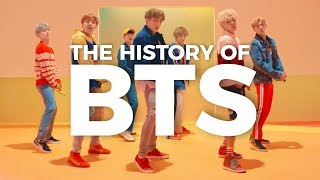 THE HISTORY OF BTS (2013-2017)