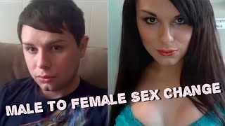 getlinkyoutube.com-Male to Female sex change Before and After Part-2