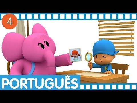 Pocoyo - Episódios completos em Português (Temporada 1 - Ep.13-16)