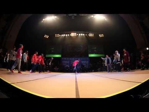 SOUL MAVERICKS vs JINJO CREW - Crew Semi Final (UK B-Boy Champs World Finals 2011)