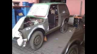 getlinkyoutube.com-Lada NIVA 1986 LKW olivgrün matt