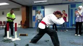 Pencak Silat Merpati Putih Atraction in Malaysia - Dr. Rachman Sjarief