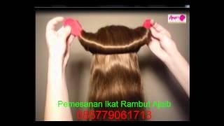 getlinkyoutube.com-Ikat rambut ajaib hanya kurang dari semenit hasil luar biasa rapi