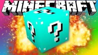 getlinkyoutube.com-Minecraft | BLUE LUCKY BLOCK MOD! - (Crazy NEW Blocks!) | Mod Showcase