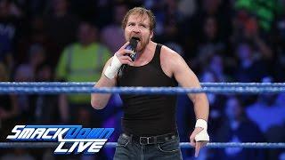 getlinkyoutube.com-Dean Ambrose calls out Baron Corbin: SmackDown LIVE: Feb. 28, 2017