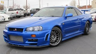 getlinkyoutube.com-1999 Nissan Skyline GT-R (R34) Start Up, Test Drive, and In Depth Review
