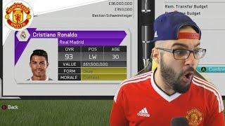 getlinkyoutube.com-MANCHESTER UNITED SIGN CRISTIANO RONALDO!! - FIFA 16 Career Mode #17