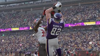 getlinkyoutube.com-Madden 16 (Xbox One) Minnesota Vikings vs Tampa Bay Buccaneers Gameplay