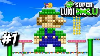 getlinkyoutube.com-New Super Luigi U Part 1