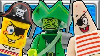 getlinkyoutube.com-LEGO SPONGEBOB The Flying Dutchman build review 3817