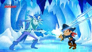 getlinkyoutube.com-Captain Jake and the Never Land Pirates | Frozen Fortress | Disney Junior UK