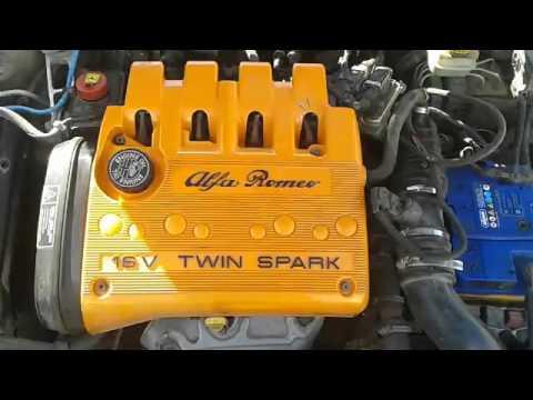 Вариатор дизельный звук Alfa Romeo 156 1.8 TS (после ремонта генератора)