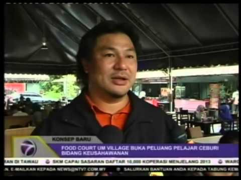 FEDGROUP  UM Food Court Village Siaran Berita TV