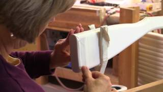 How to Properly Tape an Elite Color Guard Rifle (learn from DSI how a pre-taped rifle is created)