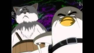 getlinkyoutube.com-(Gintama) Sadaharu and Elizabeth punch Tsukuyo and Sarutobi