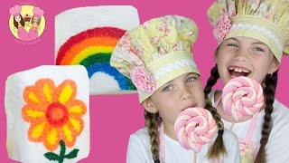getlinkyoutube.com-MARSHMALLOW PARTY TREATS - 2 easy peasy party ideas by Charli's Crafty Kitchen kids how to baking