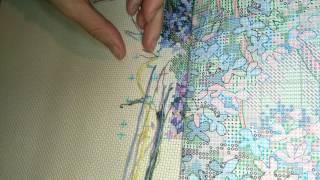 getlinkyoutube.com-Как я вышиваю. Живой процесс. Без комментариев.