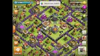 getlinkyoutube.com-Clash of Clan ตีบ้านเพื่อน [Xmod Games]