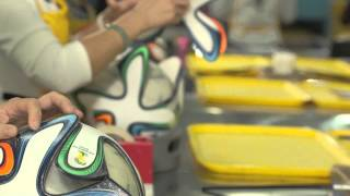 getlinkyoutube.com-adidas Brazuca official ball WC 2014 - Production