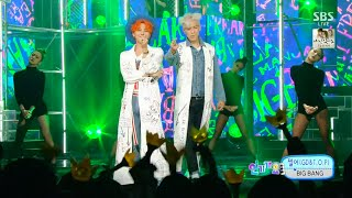 getlinkyoutube.com-BIGBANG(GD&T.O.P) - '쩔어(ZUTTER)' 0823 SBS Inkigayo : 'LET'S NOT FALL IN LOVE' NO.1 OF THE WEEK